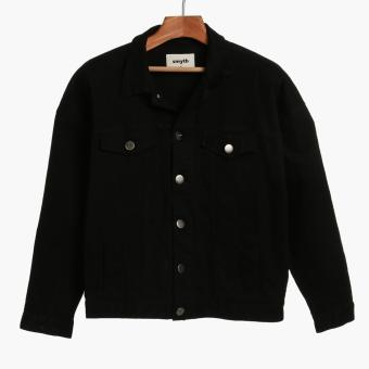 SMYTH Boys Teens Denim Jacket (Black)