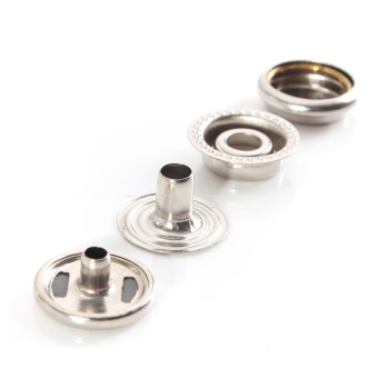 Snap Fasteners Buttons (Silver)