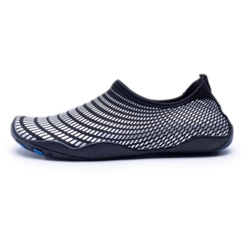 Sneakers For Men Stretch Fabric Beach Water Shoes Summer 2017Comfortable Sport Footwear Lightweight Outdoor Aqua Shoe - intl - 2