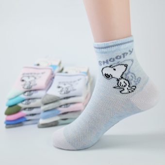Snoopy spring and summer thin Socks (No-show socks girl's)