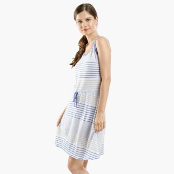 Snooze Striped Nightdress (Blue)
