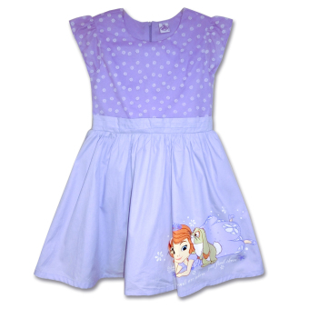 Sofia The First Lavender Floral Poplin Dress Price Philippines