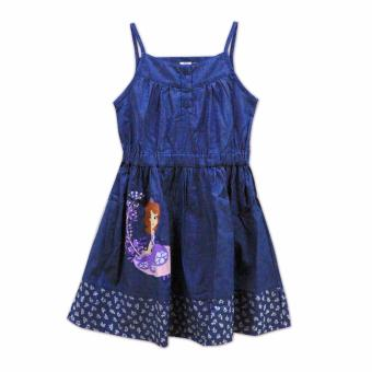 Sofia The First Strappy Dress (Chambray)