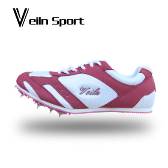 Spikes track and field training shoes (Rose color)