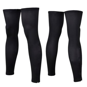 Sporter Bicycle Leg Warmers Anti-UV Running Knee Sleeves CoversCycling - intl
