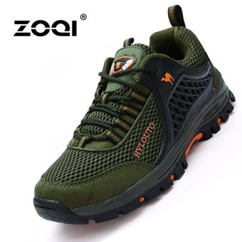 Sports & Outdoors Men's Hiking Shoes Sport Shoes(Green) - intl Price Philippines