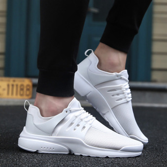 Sports New style autumn mesh shoes men shoes (A070 (white))