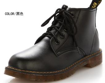 Spring and Autumn New style Dr. Martens (Black)