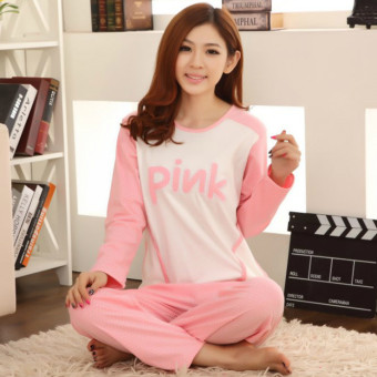 Spring and Autumn New style women's long-sleeved pants pajamas