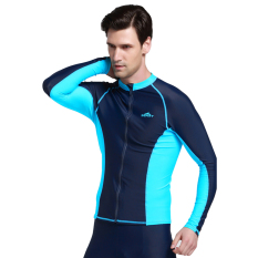 Pelacakan Harga Korean style diving suit female outdoor zipper Source · PHP 1 138 Spring Autumn Men Swimwear Long Sleeve