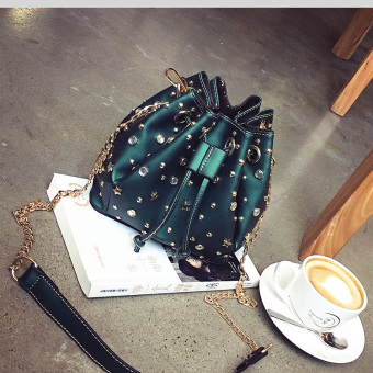 Spring New style matte small bag (Green) (Green)