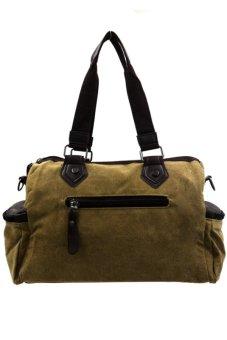 Steph Sling/Handy Unisex Canvas Bag (Brown)