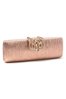 Stratal 1036 Oro Clutch Bag (Champagne) - picture 2