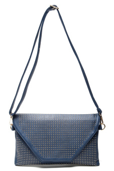 Stratl 028 Fashion Borchie Clutch Bag (Blue)