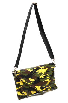 Stratl 1489 Fashion Esercito Clutch Bag (Yellow) - picture 2