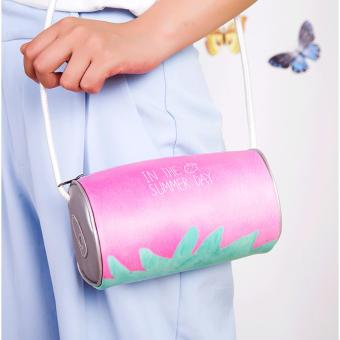 Strawberry Sling Bag (Pink and Green)