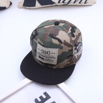 Stylish guy's Korean-style Female Summer duckbill hat camouflage baseball cap