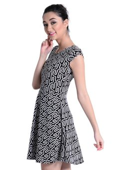 Sugar Clothing Jasim 14 Dress (Black/White) - picture 2