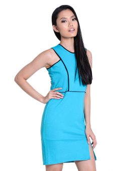 Sugar Clothing Misty Midy Dress (Teal)