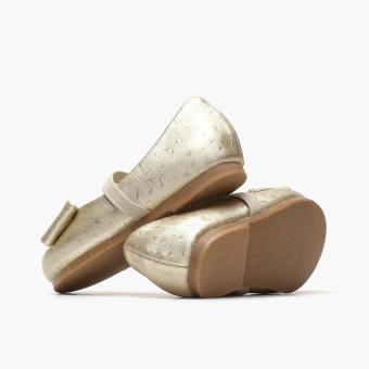 Sugar Kids Girls Giselle Ballet Flats (Light Gold) - 3