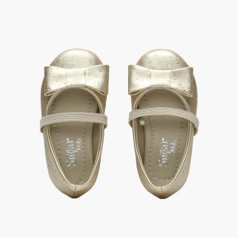 Sugar Kids Girls Giselle Ballet Flats (Light Gold) - 5