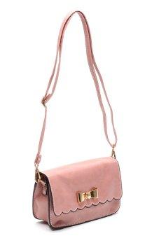 Sugar Lou Clutch Bag (Rose Pink) - 2