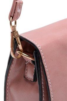 Sugar Lou Clutch Bag (Rose Pink) - 4