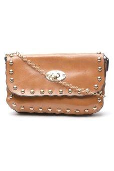 Sugar Milly Clutch Bag (Brown)