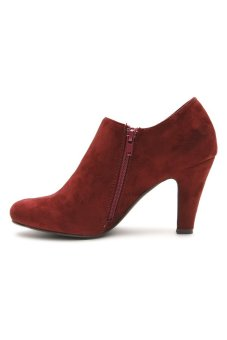 Suki Shoes 2347 Heel Boots (Red)