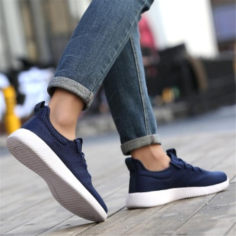 Summer Autumn Men's Sneakers Men Running Shoes Trending Style Sports Shoes Breathable Trainers Sneakers - intl