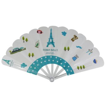 Summer Collection Foldable Hand Fan (multicolor)