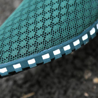 Summer Fashion Mesh Lazy Loafers - Green - picture 3