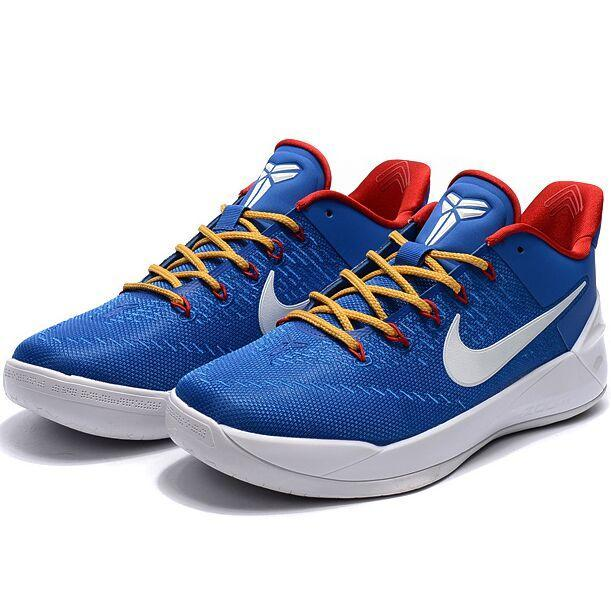 Summer Sports Sneakers For Zoom Kobe 12th AD Basketball Shoes Men(Blue/White) - intl