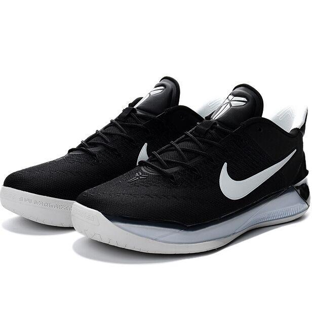 Summer Sports Sneakers For Zoom Kobe 12th AD ZK Basketball ShoesMen (Black/White) - intl Price Philippines