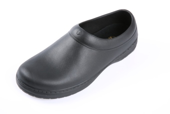 Super A36 chef kitchen male and female promotional shoes non-slip shoes (Black) Price Philippines