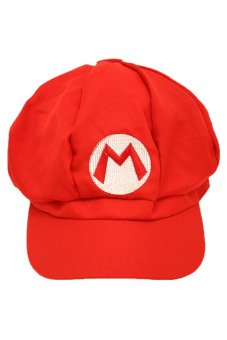 Super Mario - Mario Cosplay Cap (Red)
