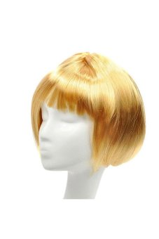Synthetic Fiber BOBO Wig (Blonde) - picture 2