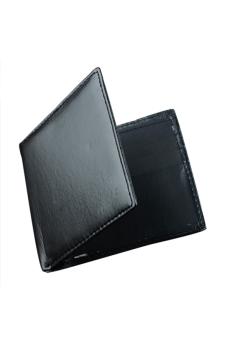 Synthetic Leather Wallet (Black) - picture 2