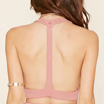 T- Back Crop Top - 4