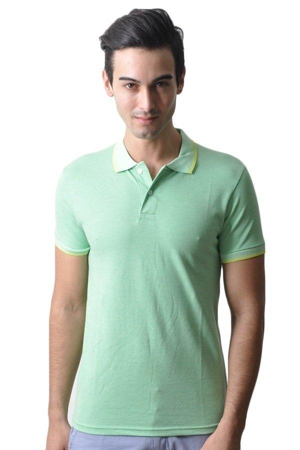 T-Shirt Co. Mens Polo Shirts (Mint Green) | Lazada PH