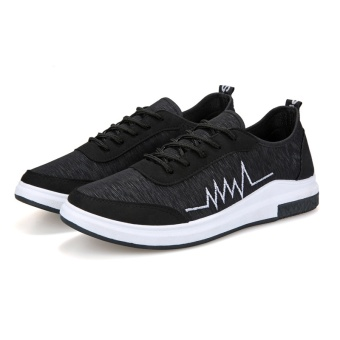 TA Korean version of the new old Beijing casual shoes, sports shoes Metrosexual(Black) - intl