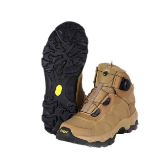 Tactical Combat Shoes ESDY Men Hiking Boots Lacing System BootsMilitary - intl