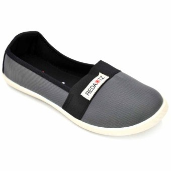 Tanggo 2016-11 Women's Flat Shoes Casual Slip Ons Shoes (Grey)
