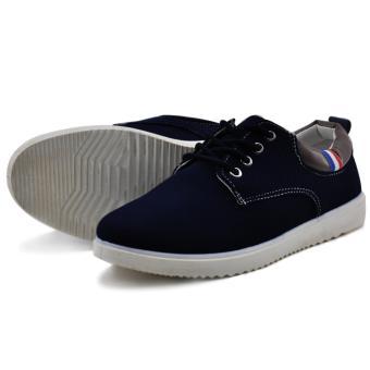 Tanggo 813 Fashion Sneakers Men's Casual Rubber Shoes (Black) - 2