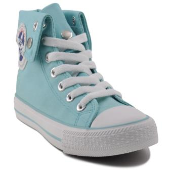 Tanggo Cindy Fashion Sneakers Mid/High Cut Women's Rubber Shoes(turquoise)