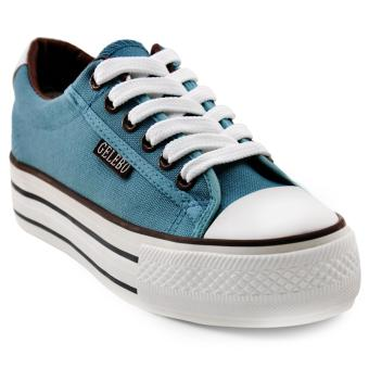 Tanggo Coleen Fashion Sneakers Lightweight Breathable Shoes (bluegreen)