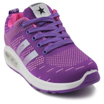Tanggo Emma Fashion Sneakers Women's Rubber Shoes (purple)