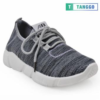 Tanggo Fashion Mesh Sneakers Shoes for Women 1006 (Grey)