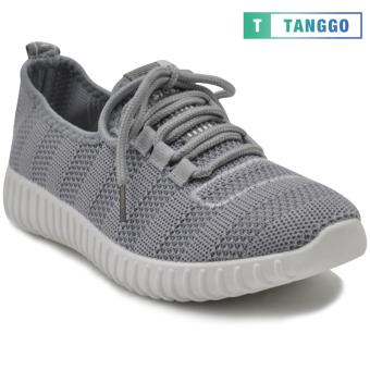 Tanggo Fashion Mesh Sneakers Shoes for Women 3533 (Grey/white)