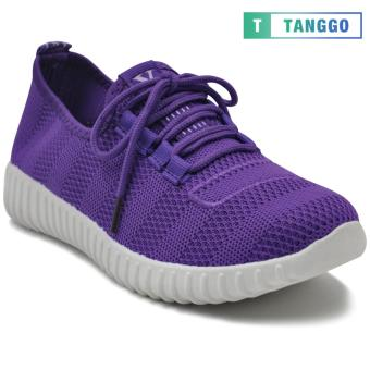 Tanggo Fashion Mesh Sneakers Shoes for Women 3533 (violet/white)